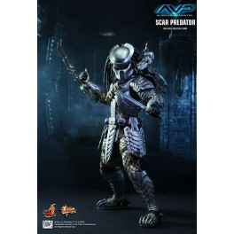 Hot Toys Limited AVP Scar Predator 2.0 MMS 190 1/6th Scale Collector's Edition