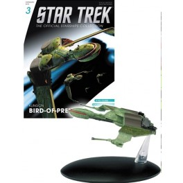 Star Trek official collection magazine 3 bird of prey