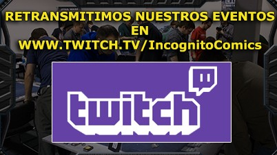 Canal Twitch Inkognito Comics